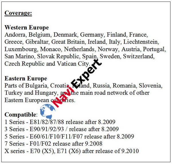 bmw road map eastern europe Road Map Europe East PREMIUM 2020 2 for BMW
